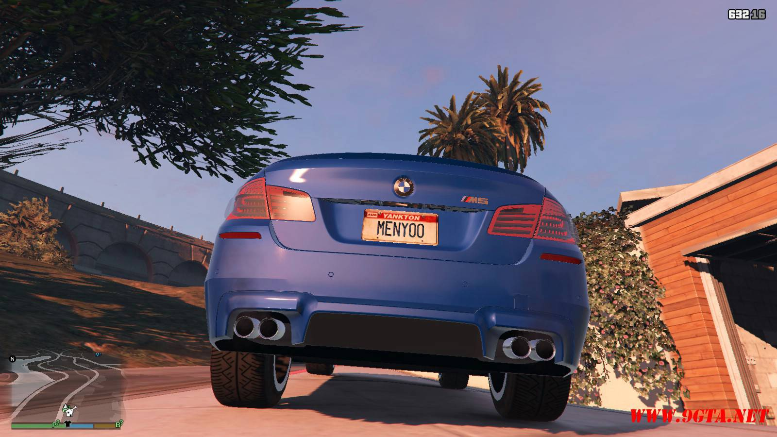 2012 BMW M5 F10 Mod For GTA5 (7)