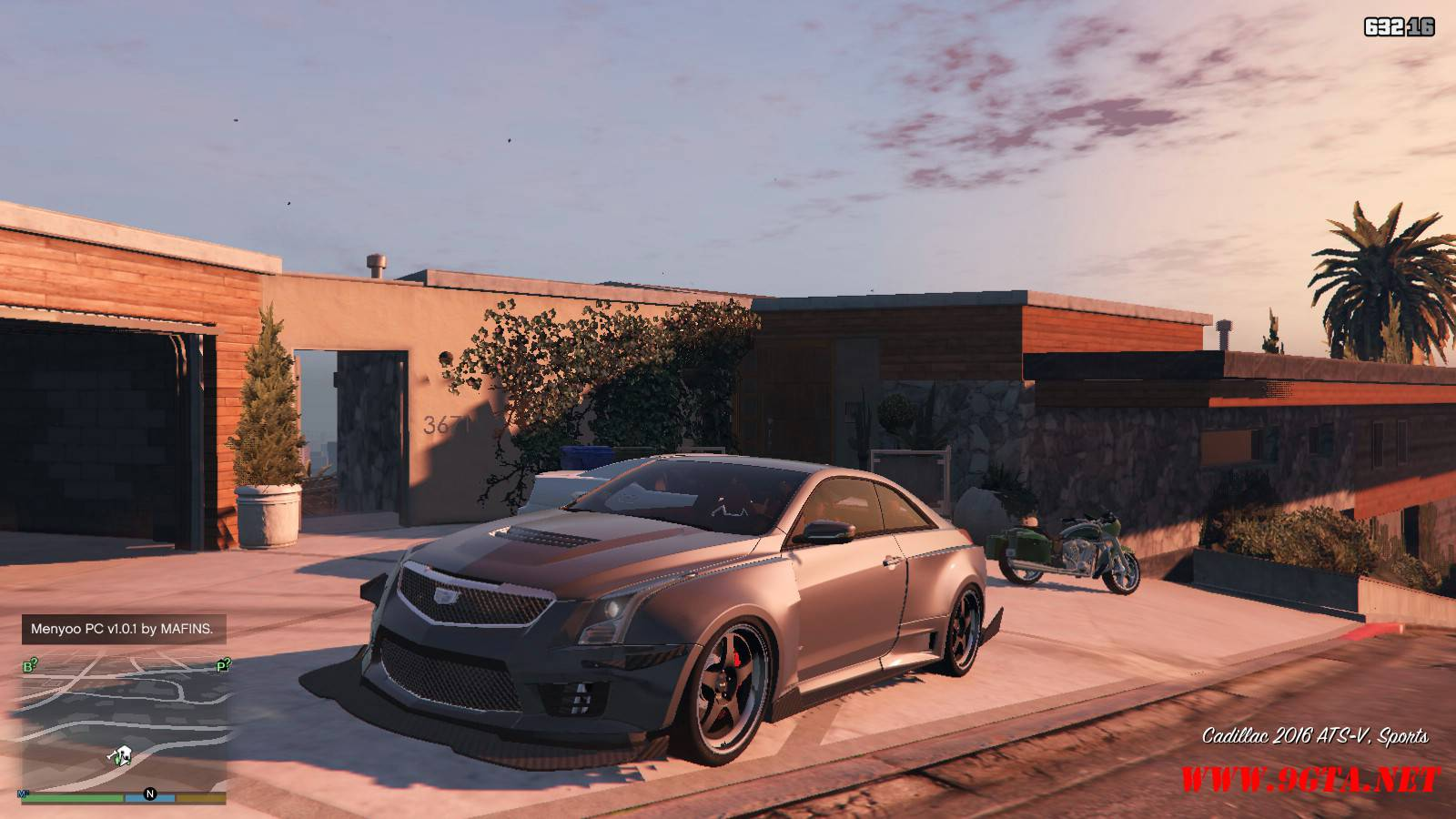 2016 Cadillac ATS-V Forza Edition Mod For GTA5 (1)