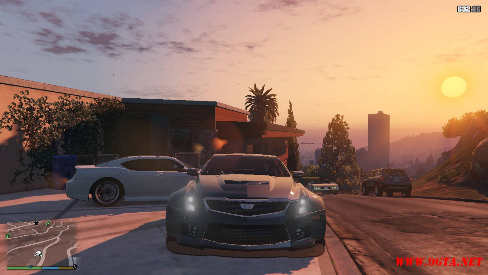 2016 Cadillac ATS-V Forza Edition Mod For GTA5 (10)