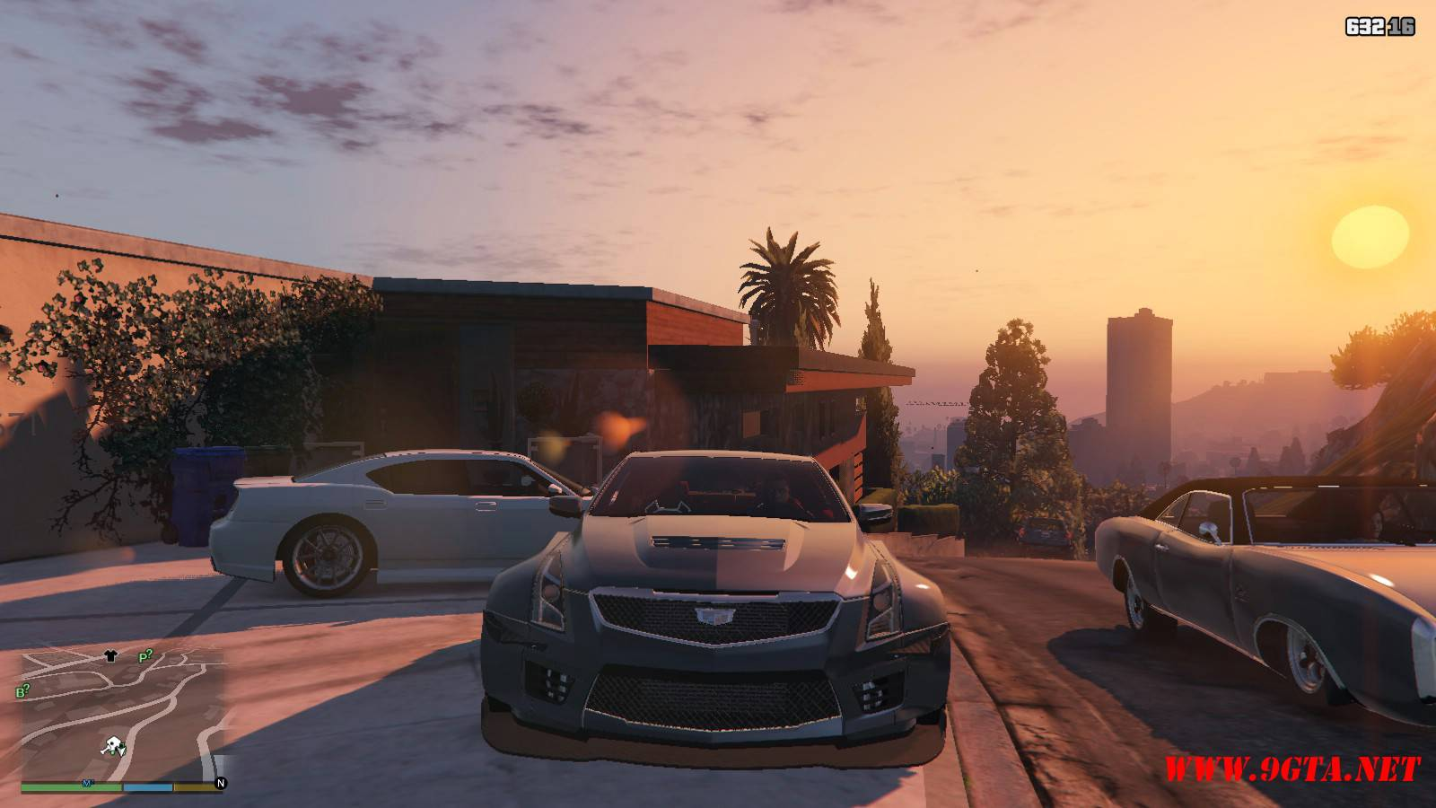 2016 Cadillac ATS-V Forza Edition Mod For GTA5 (11)