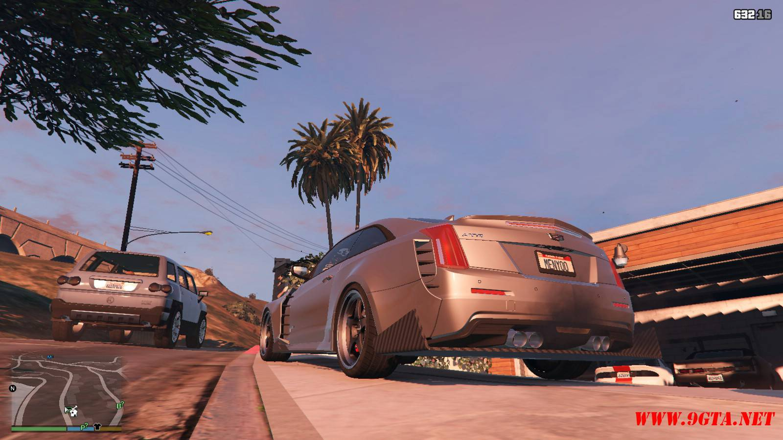 2016 Cadillac ATS-V Forza Edition Mod For GTA5 (3)