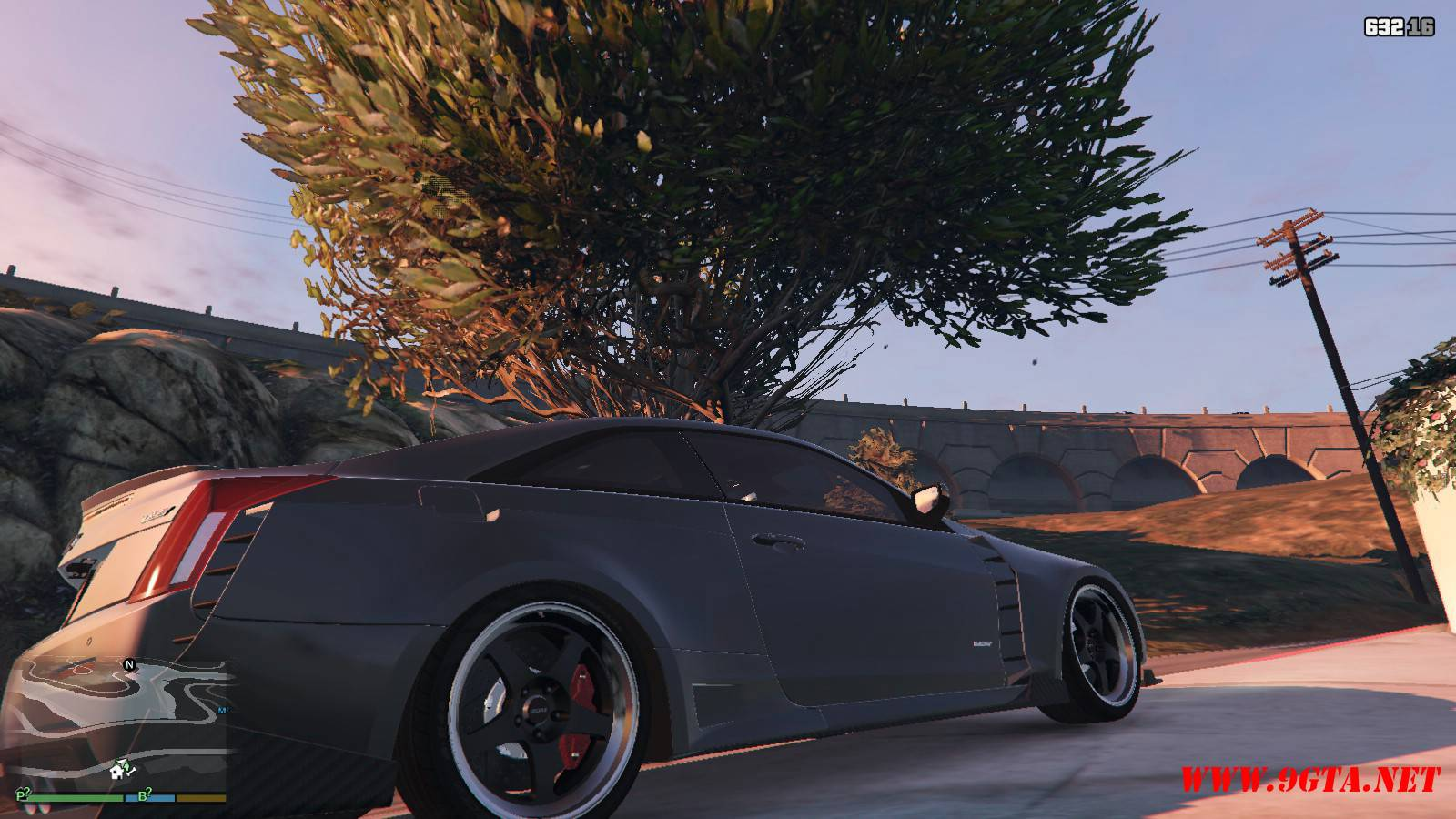 2016 Cadillac ATS-V Forza Edition Mod For GTA5 (6)