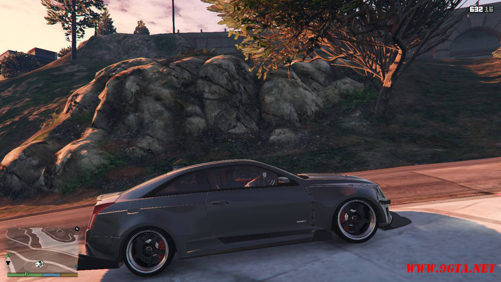 2016 Cadillac ATS-V Forza Edition Mod For GTA5 (7)