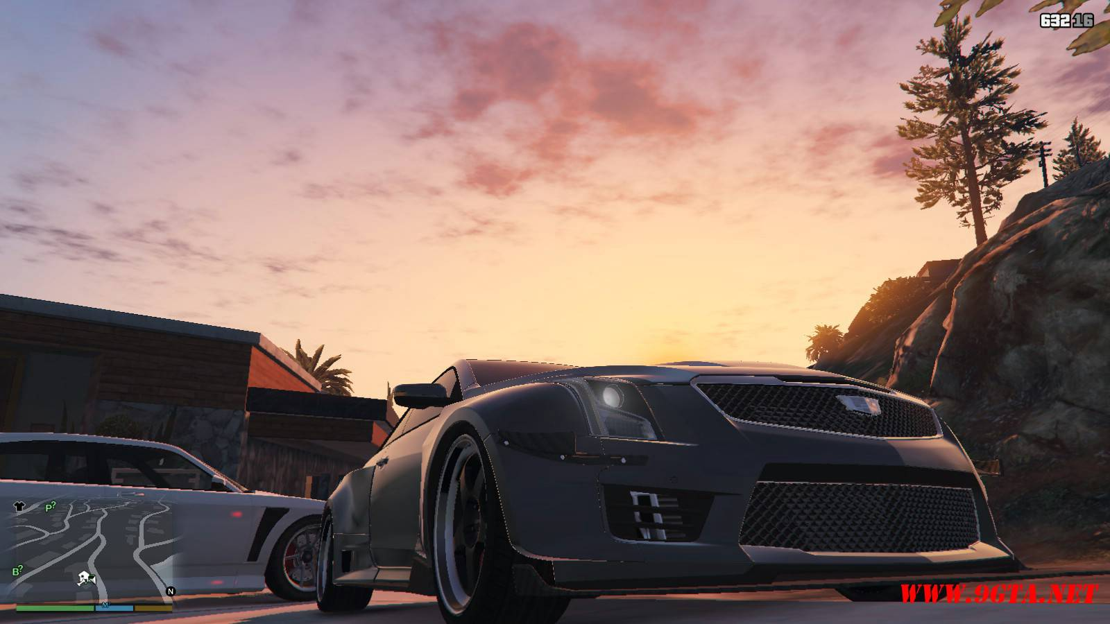 2016 Cadillac ATS-V Forza Edition Mod For GTA5 (8)