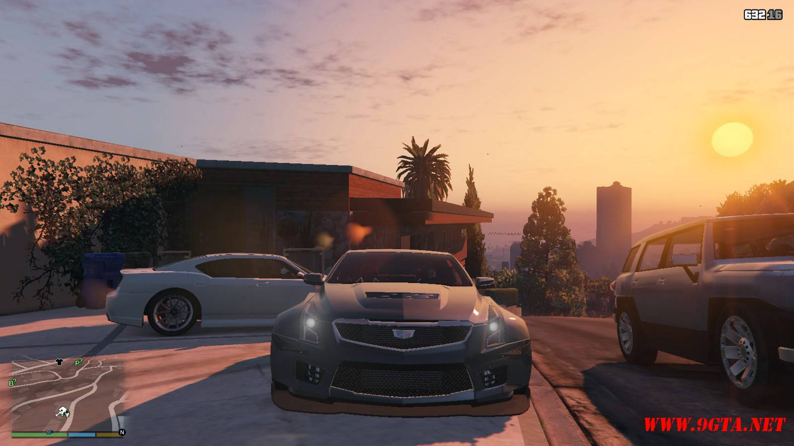 2016 Cadillac ATS-V Forza Edition Mod For GTA5 (9)