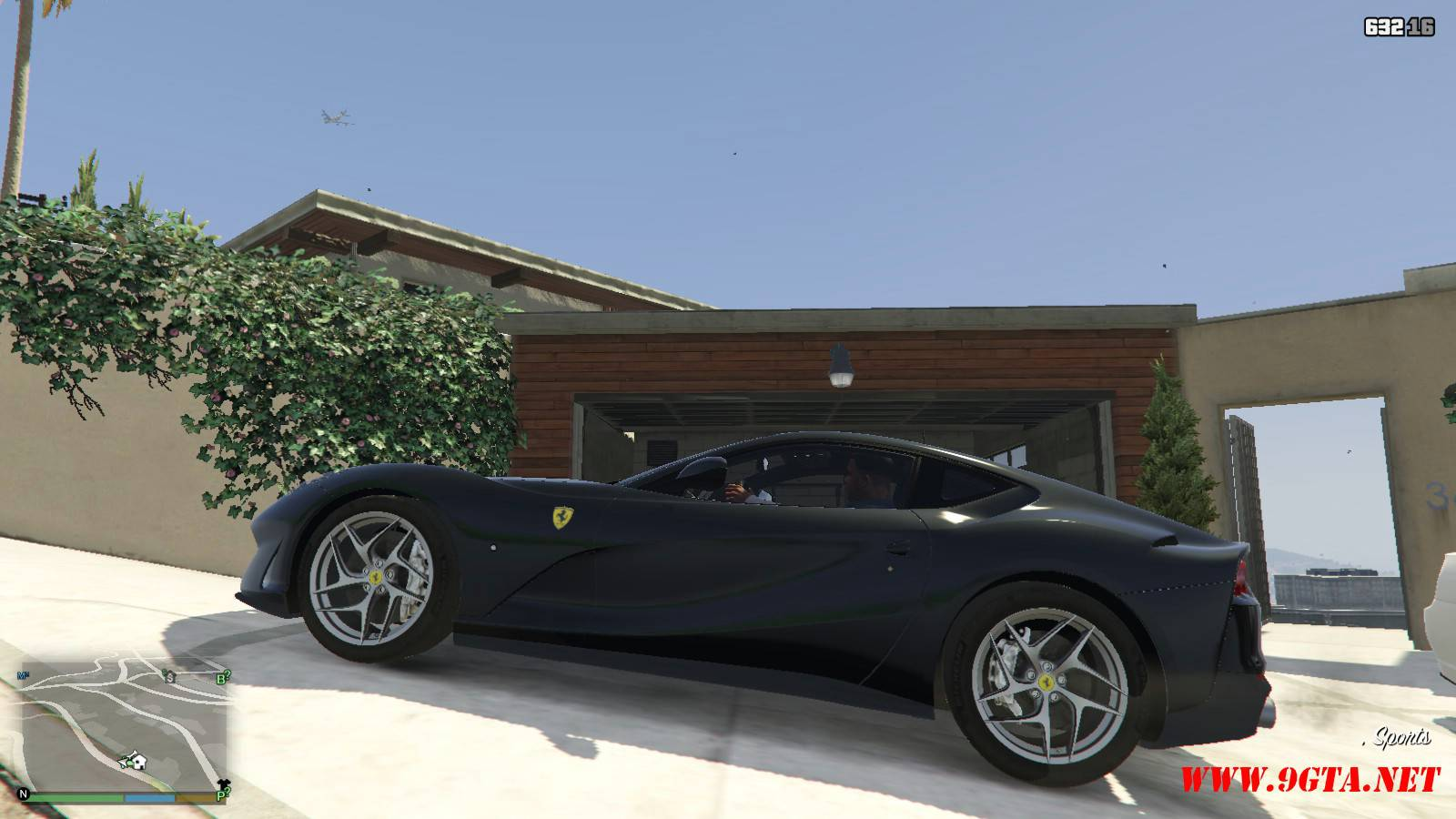 2018 Ferrari 812 Superfast Mod For GTA5 (2)