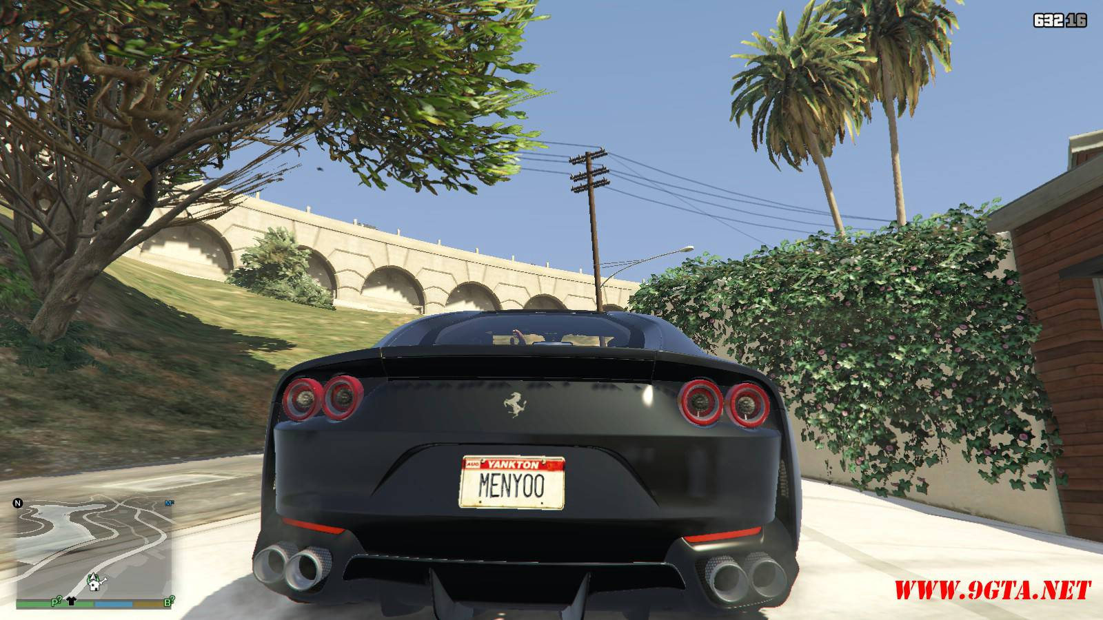 2018 Ferrari 812 Superfast Mod For GTA5 (5)