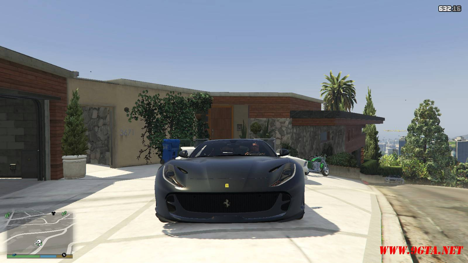 2018 Ferrari 812 Superfast Mod For GTA5 (9)