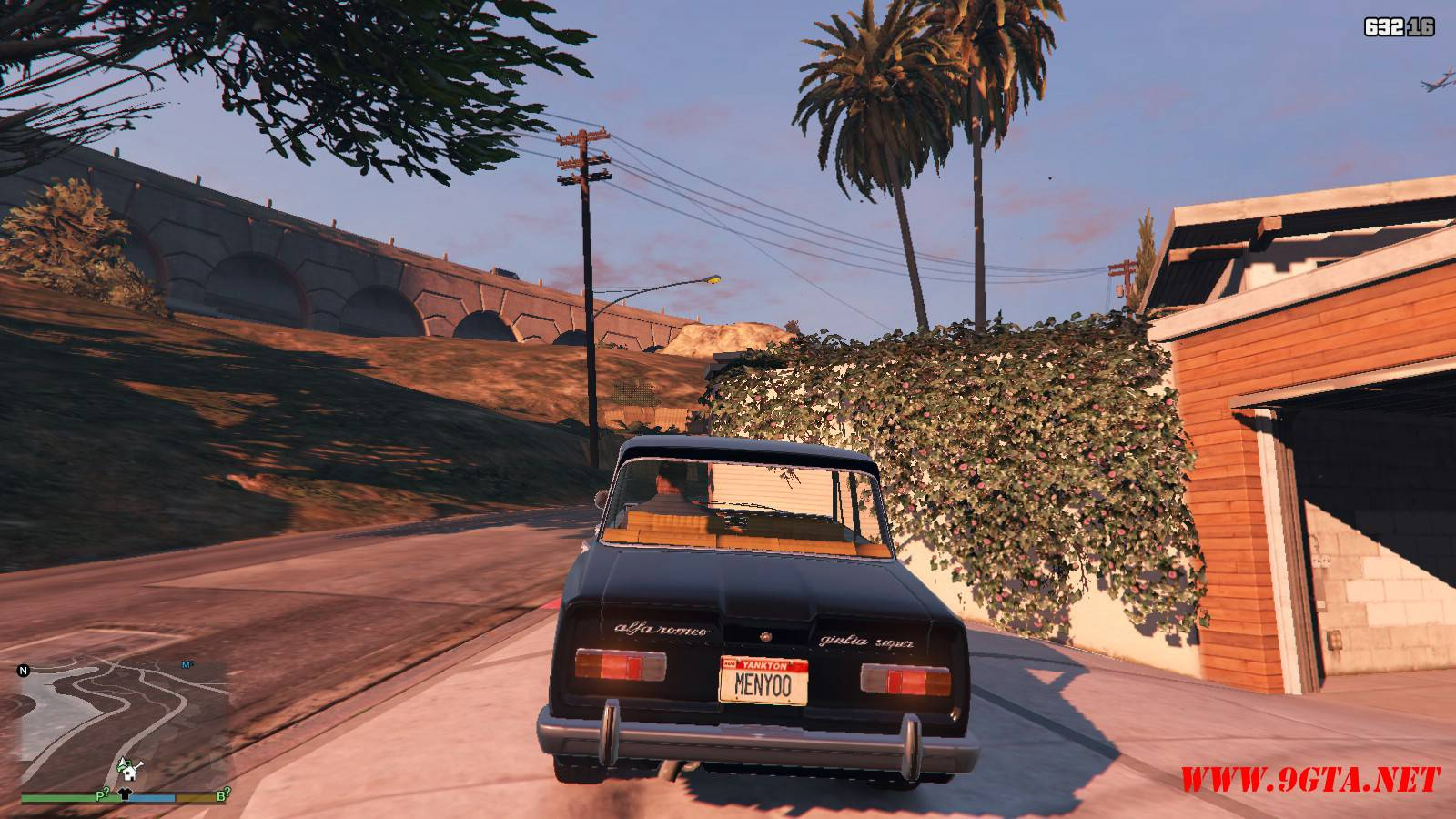 Alfa Romeo GiuliaSuper Mod For GTA5 (3)