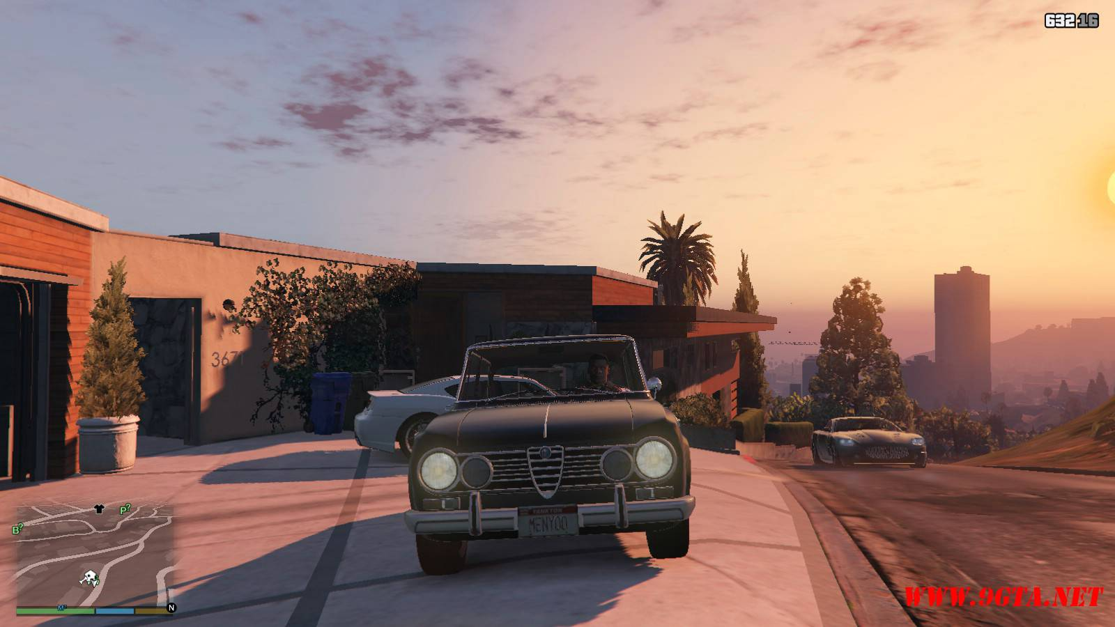 Alfa Romeo GiuliaSuper Mod For GTA5 (5)