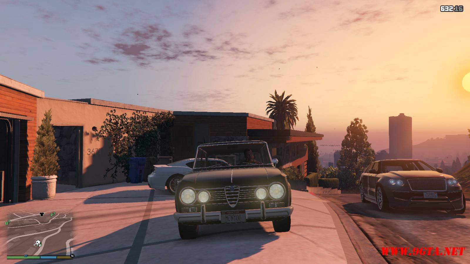 Alfa Romeo GiuliaSuper Mod For GTA5 (6)