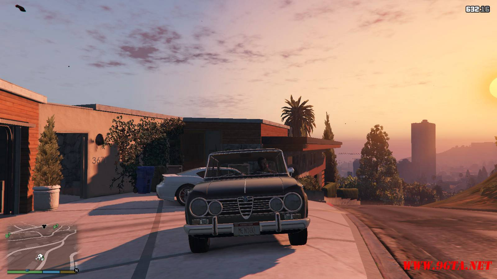 Alfa Romeo GiuliaSuper Mod For GTA5 (7)