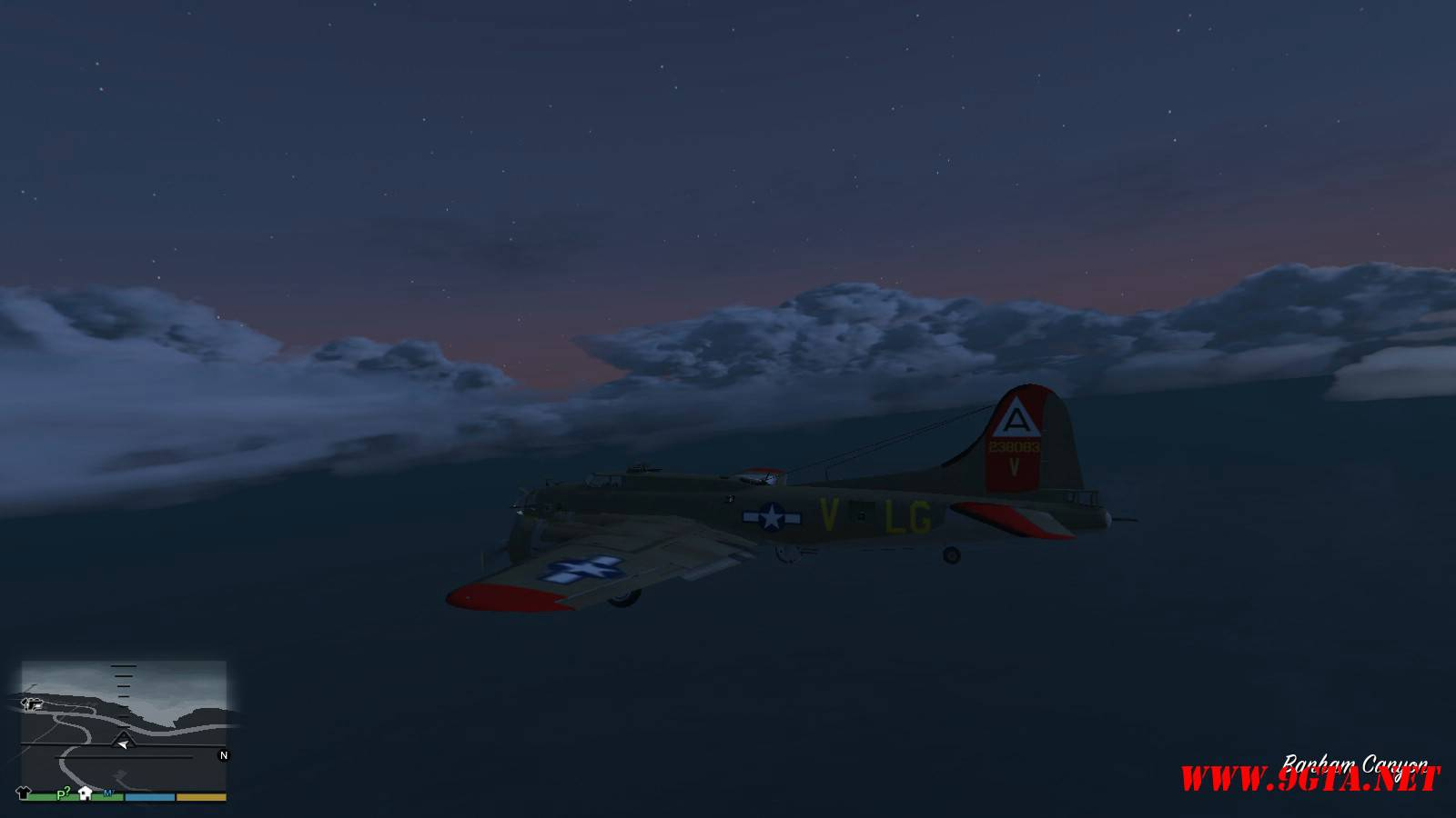 B-17G Flying Fortress Mod For GTA5 (10)