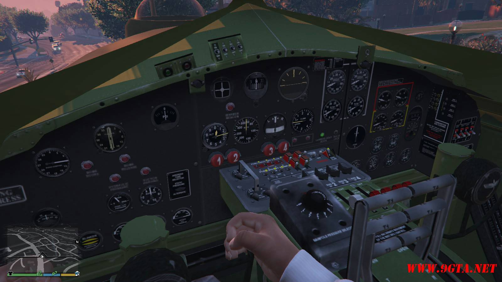B-17G Flying Fortress Mod For GTA5 (4)