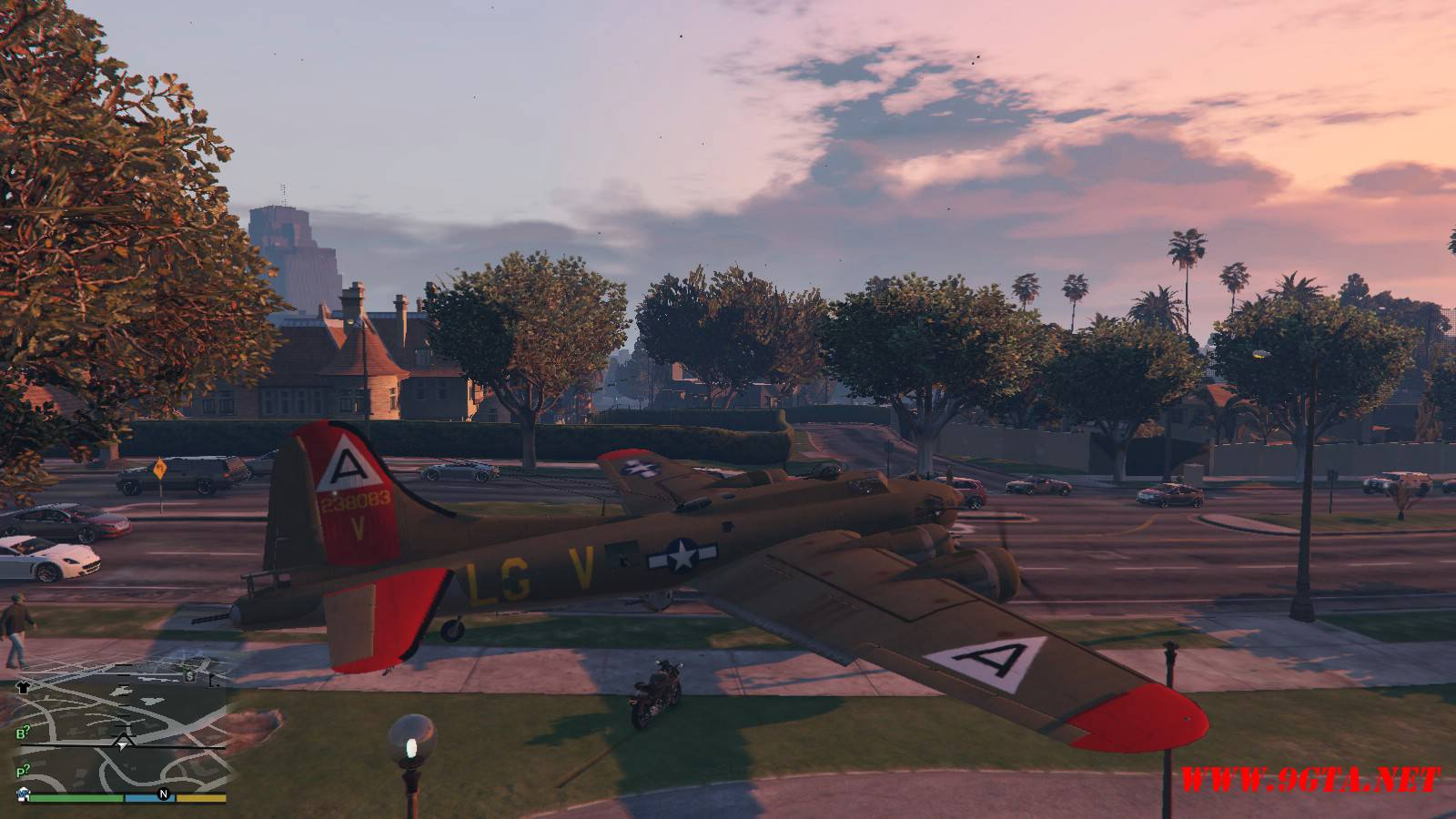 B-17G Flying Fortress Mod For GTA5 (5)