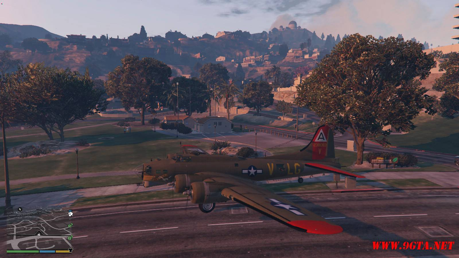 B-17G Flying Fortress Mod For GTA5 (6)