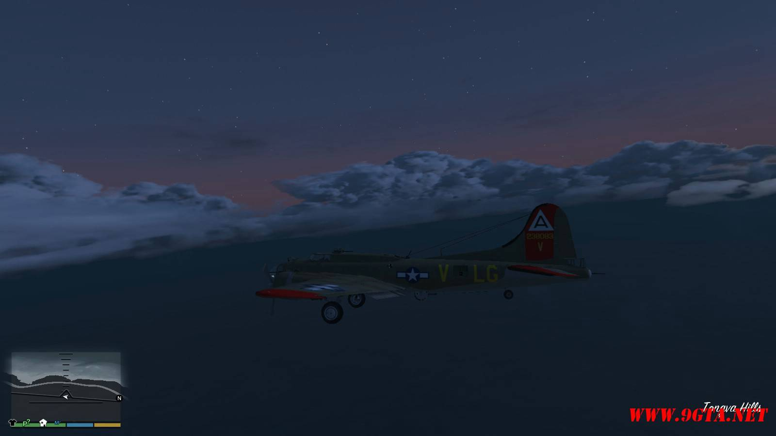 B-17G Flying Fortress Mod For GTA5 (7)