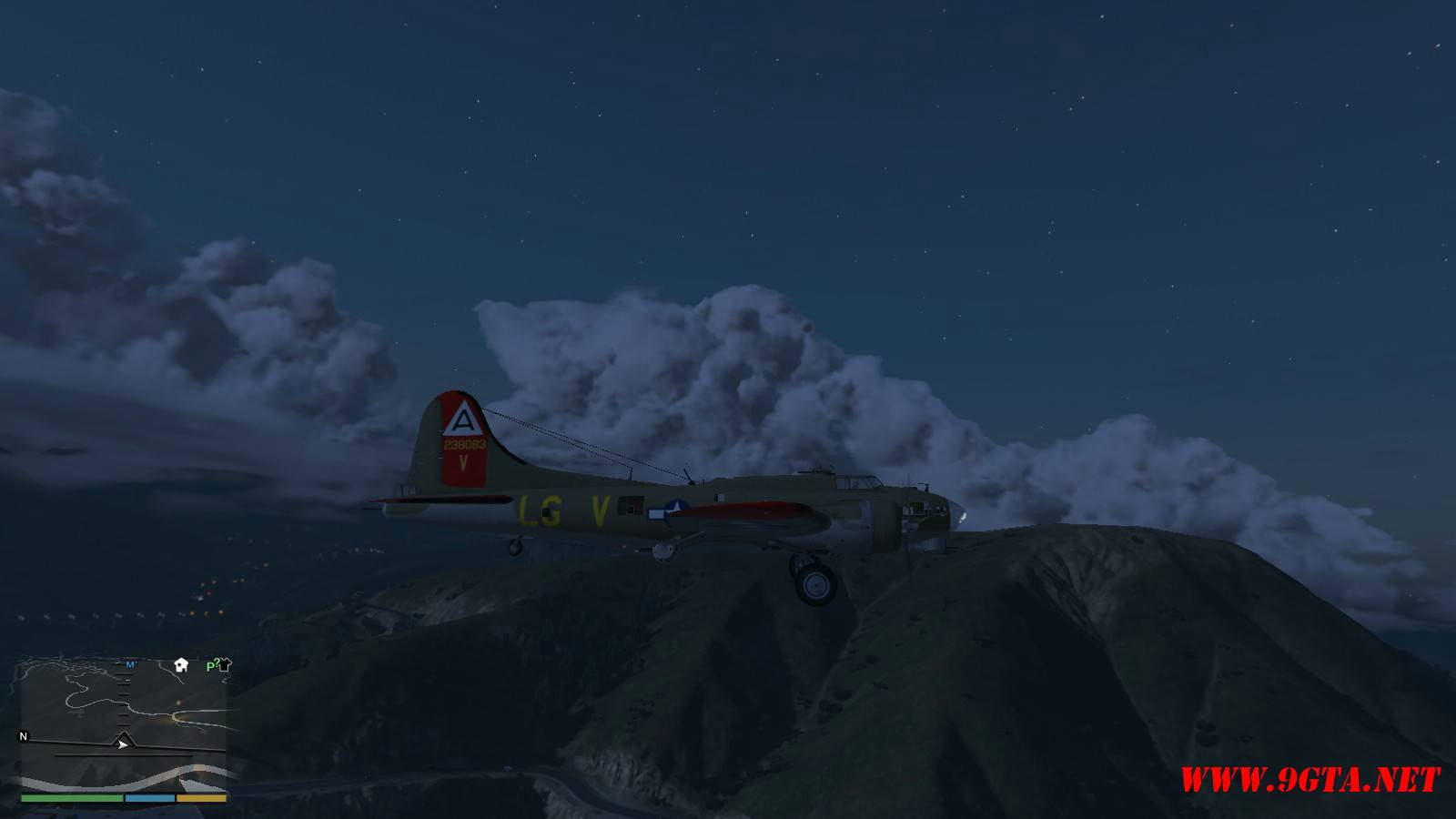 B-17G Flying Fortress Mod For GTA5 (8)
