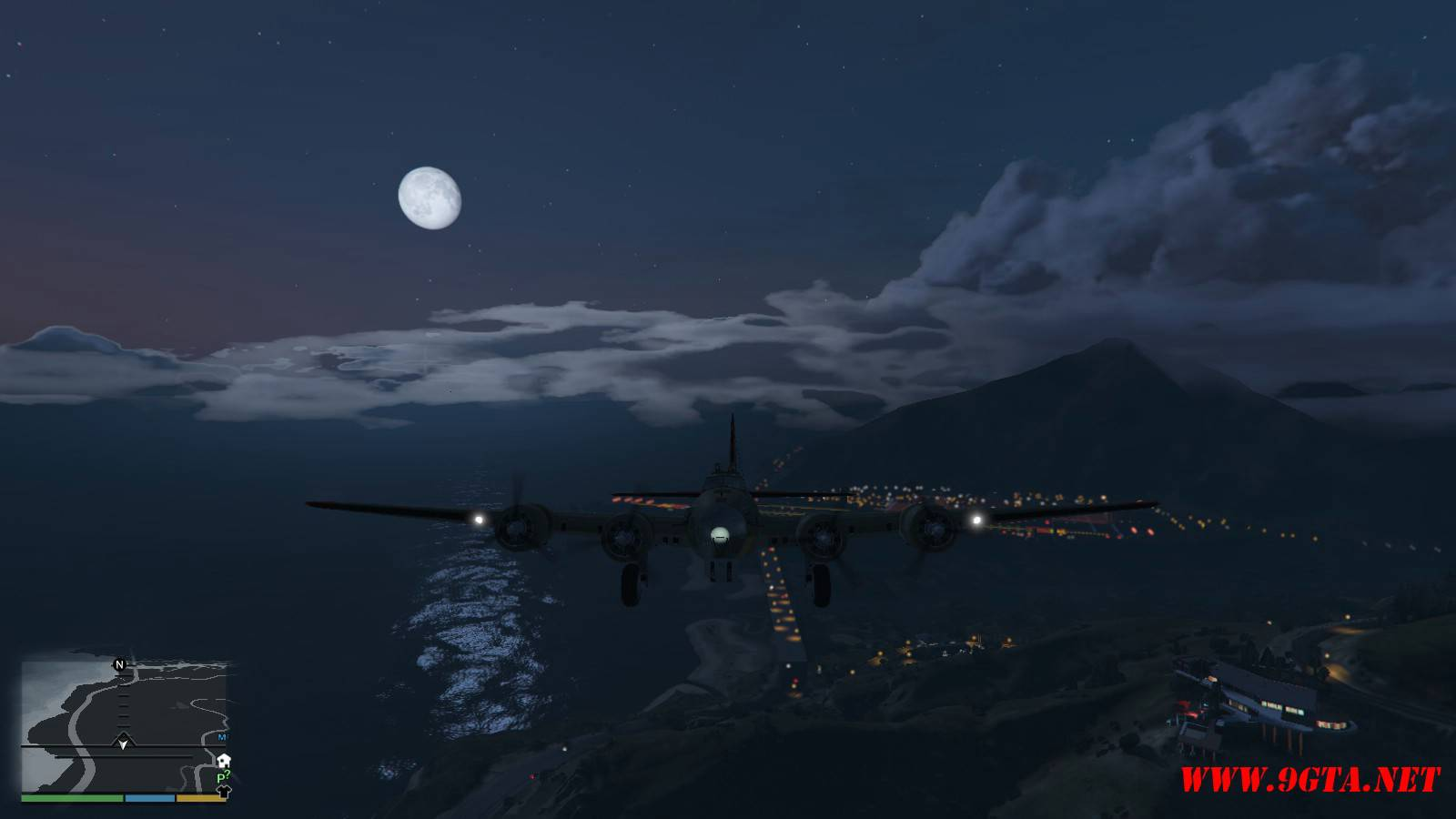 B-17G Flying Fortress Mod For GTA5 (9)