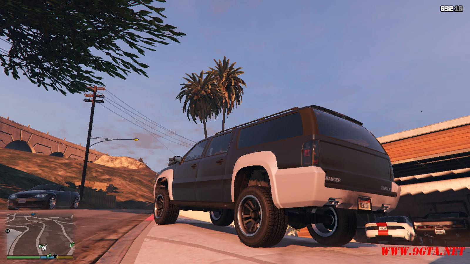 Lifted Granger 2.0 Mod For GTA5 (10)