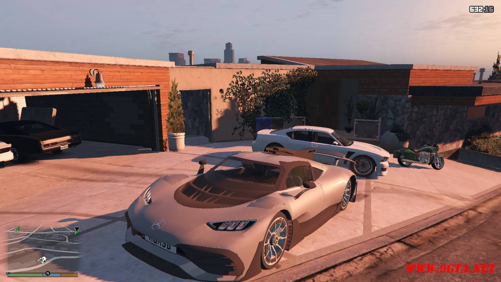 Mercedes AMG Project One Mod For GTA5 (1)