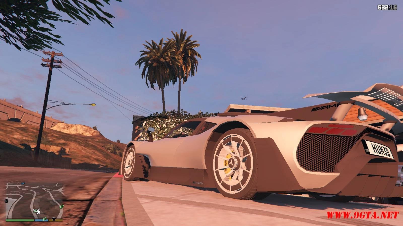 Mercedes AMG Project One Mod For GTA5 (3)