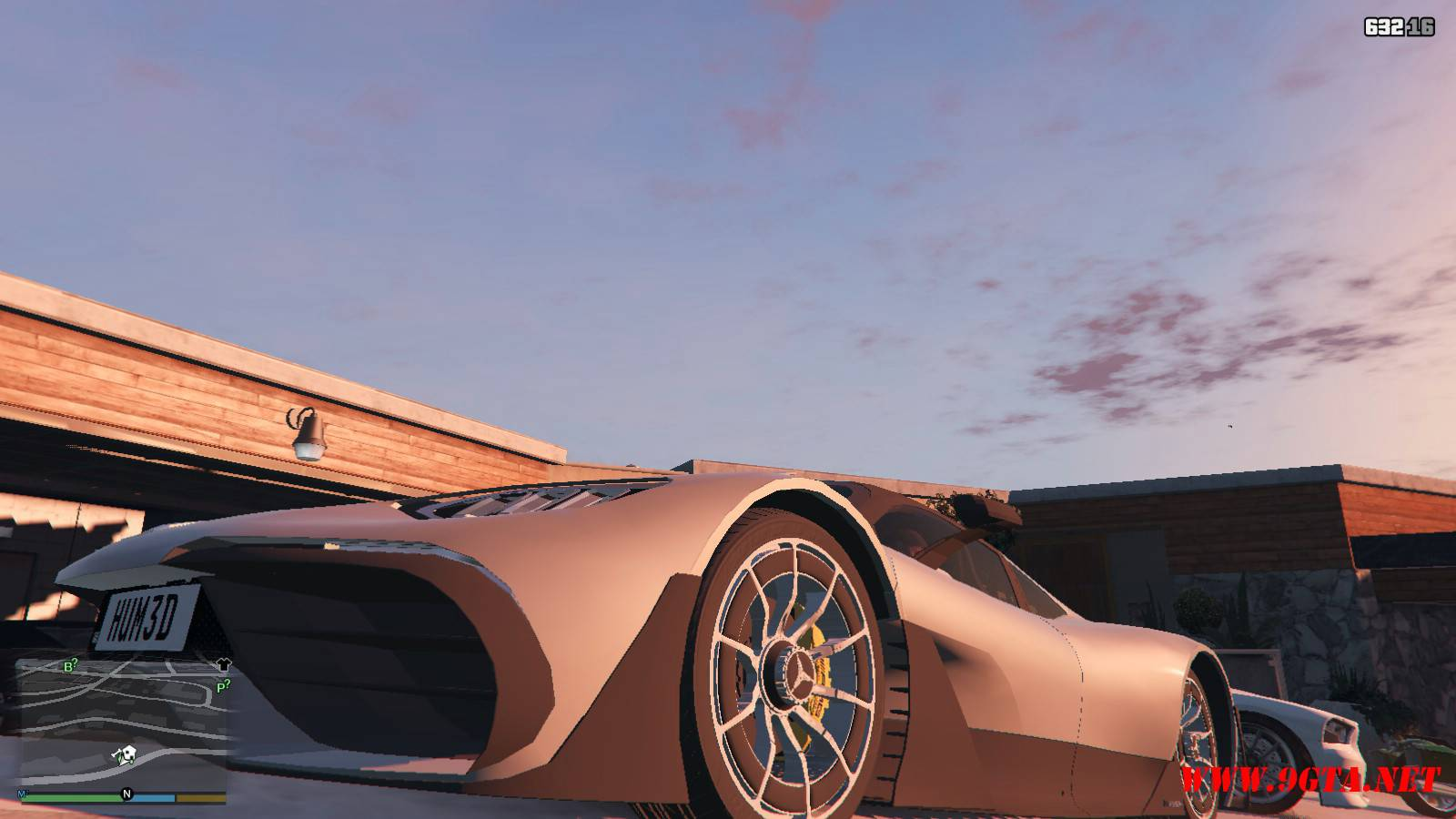 Mercedes AMG Project One Mod For GTA5 (4)