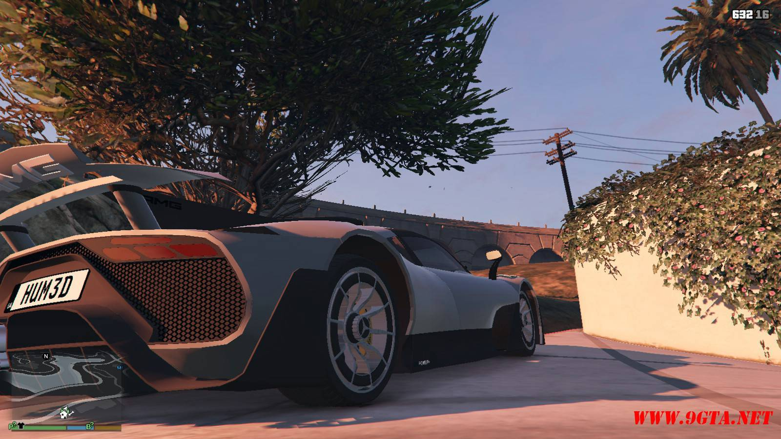 Mercedes AMG Project One Mod For GTA5 (6)