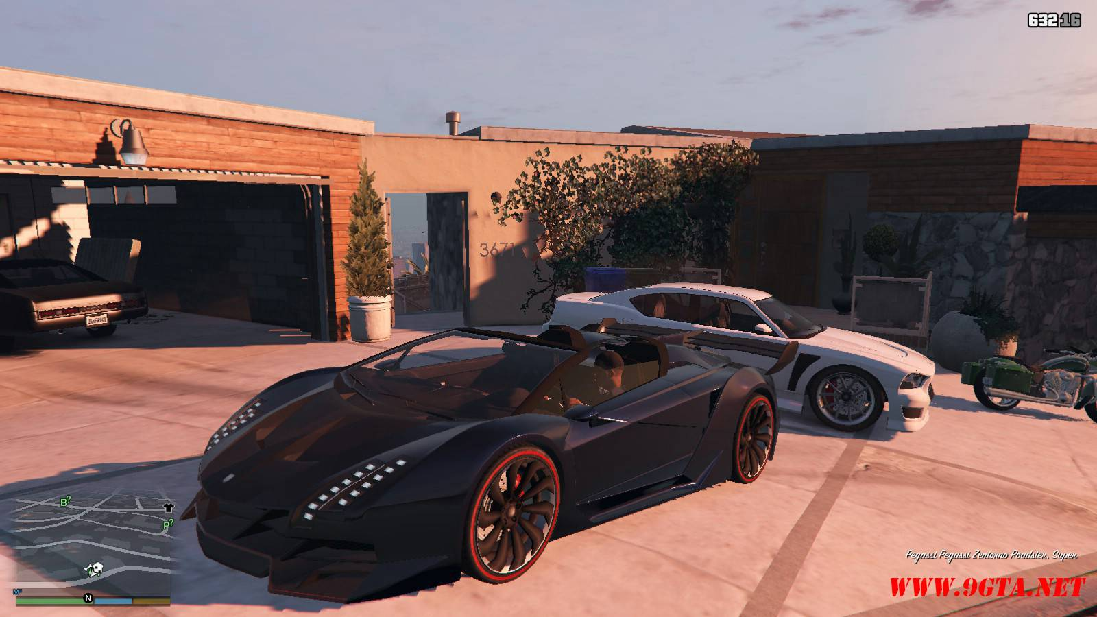 Pegassi Zentorno Roadster Mod For GTA5 (1)