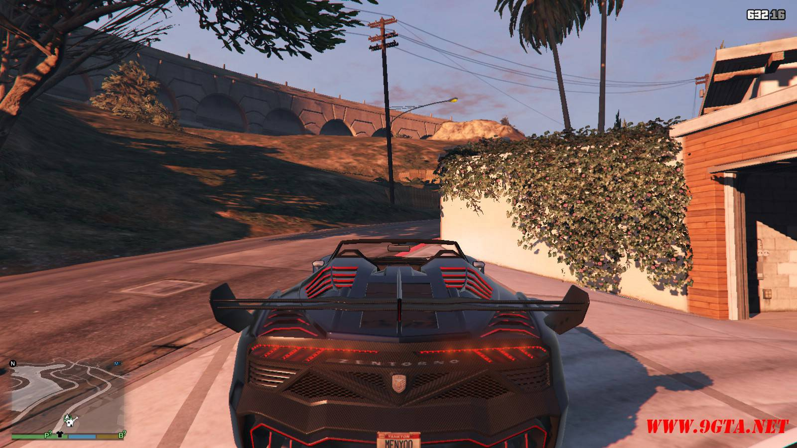 Pegassi Zentorno Roadster Mod For GTA5 (4)