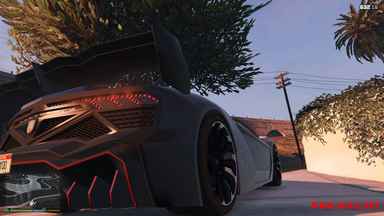 Pegassi Zentorno Roadster Mod For GTA5 (7)