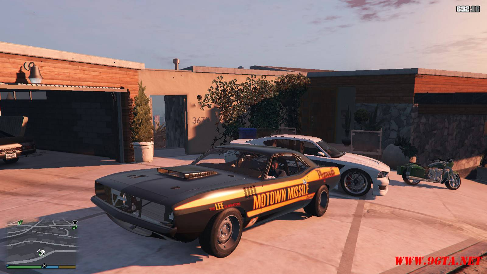 Plymouth Kuda Beck Customs Mod For GTA5 (1)
