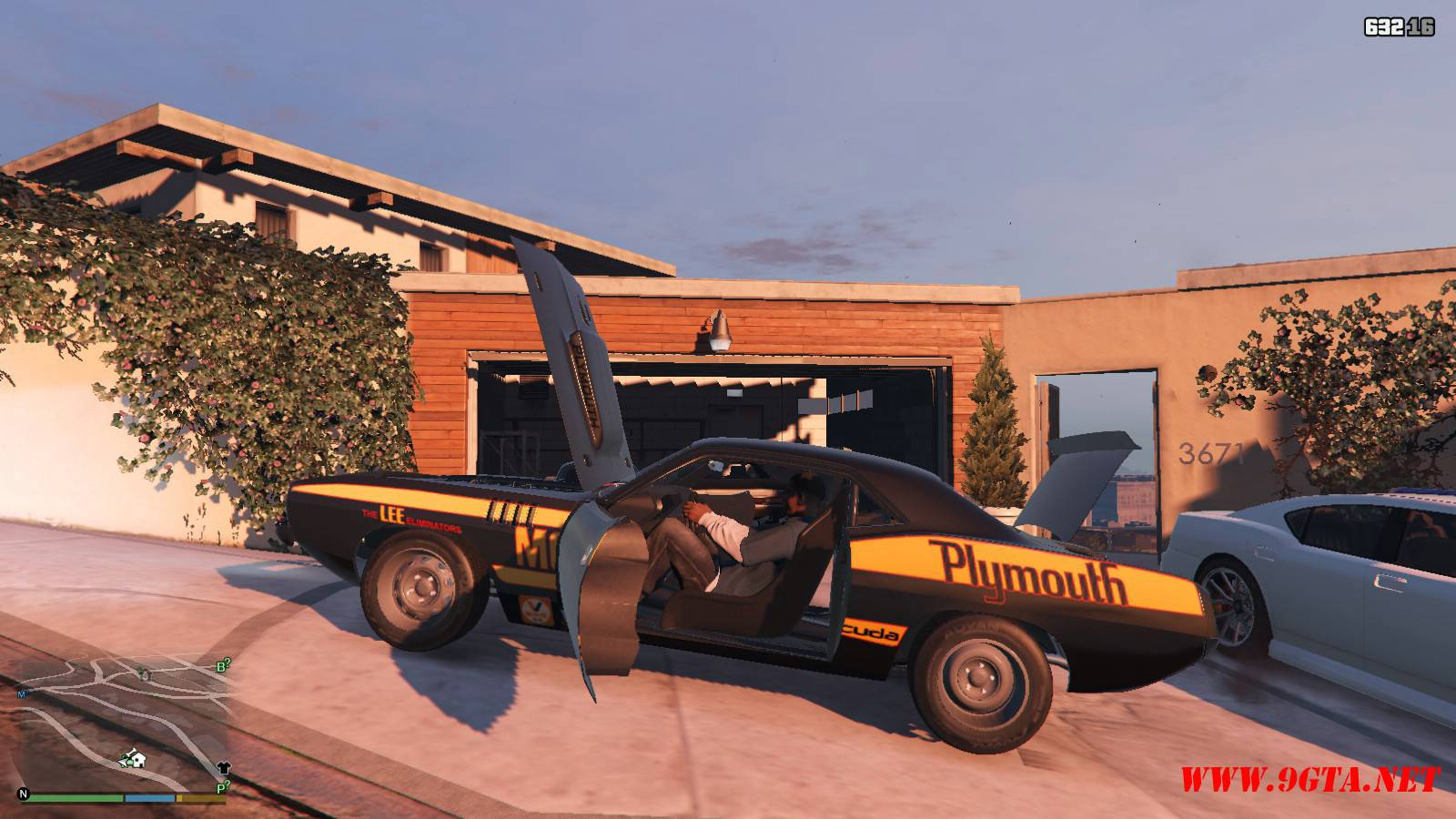 Plymouth Kuda Beck Customs Mod For GTA5 (14)