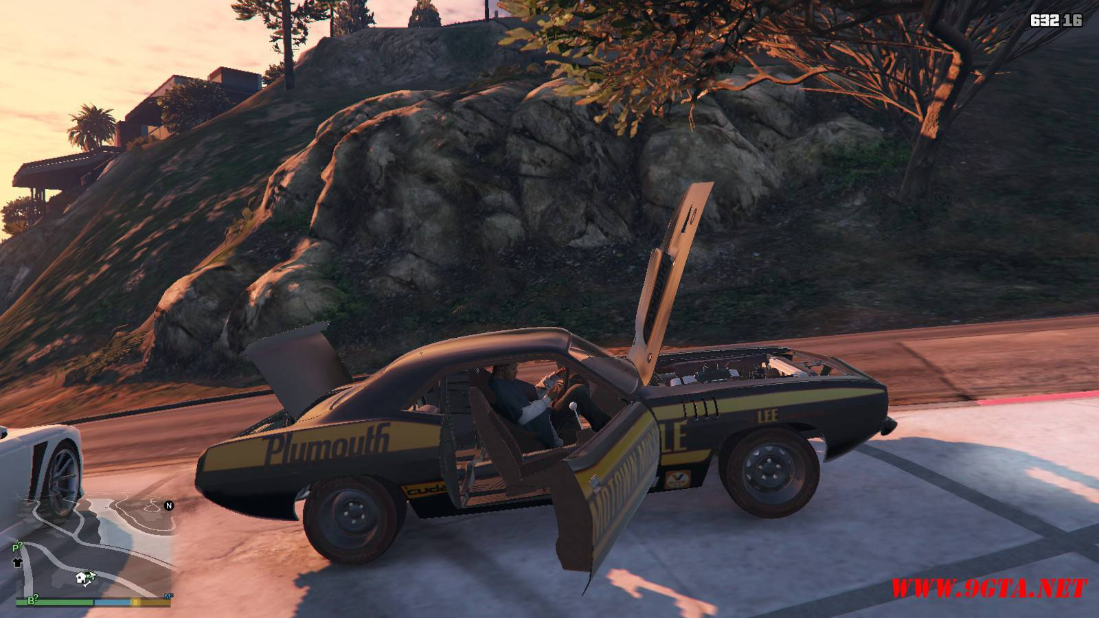 Plymouth Kuda Beck Customs Mod For GTA5 (16)