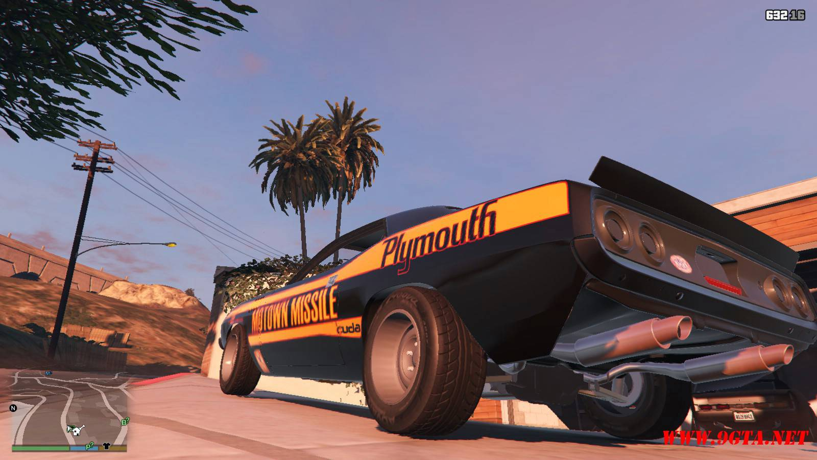 Plymouth Kuda Beck Customs Mod For GTA5 (3)