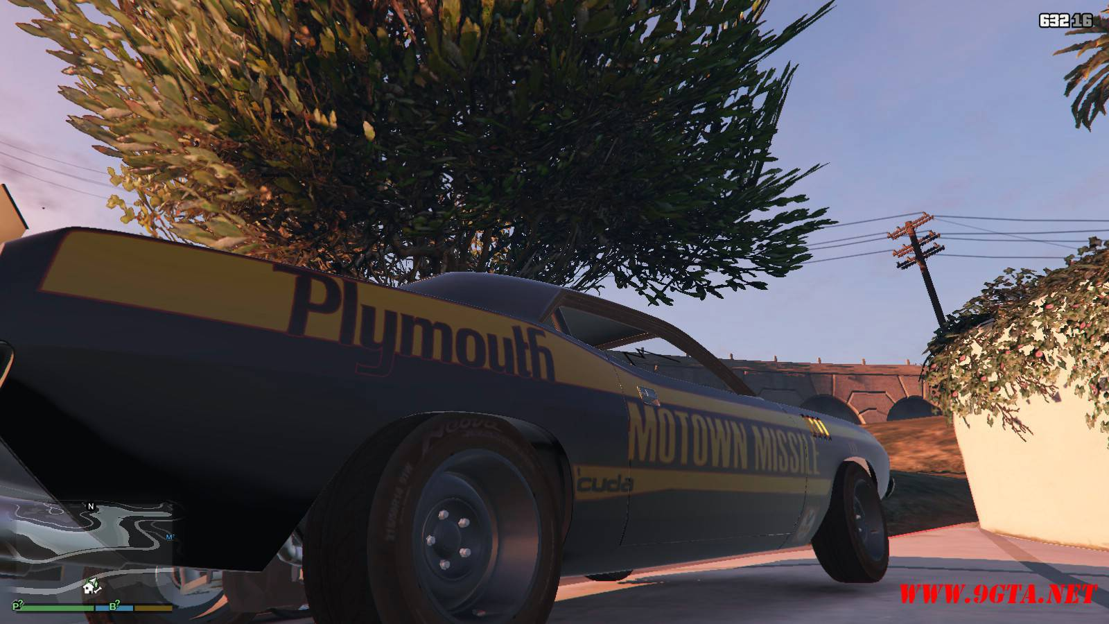Plymouth Kuda Beck Customs Mod For GTA5 (7)