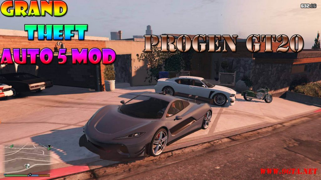 Progen GT20 Mod For GTA5
