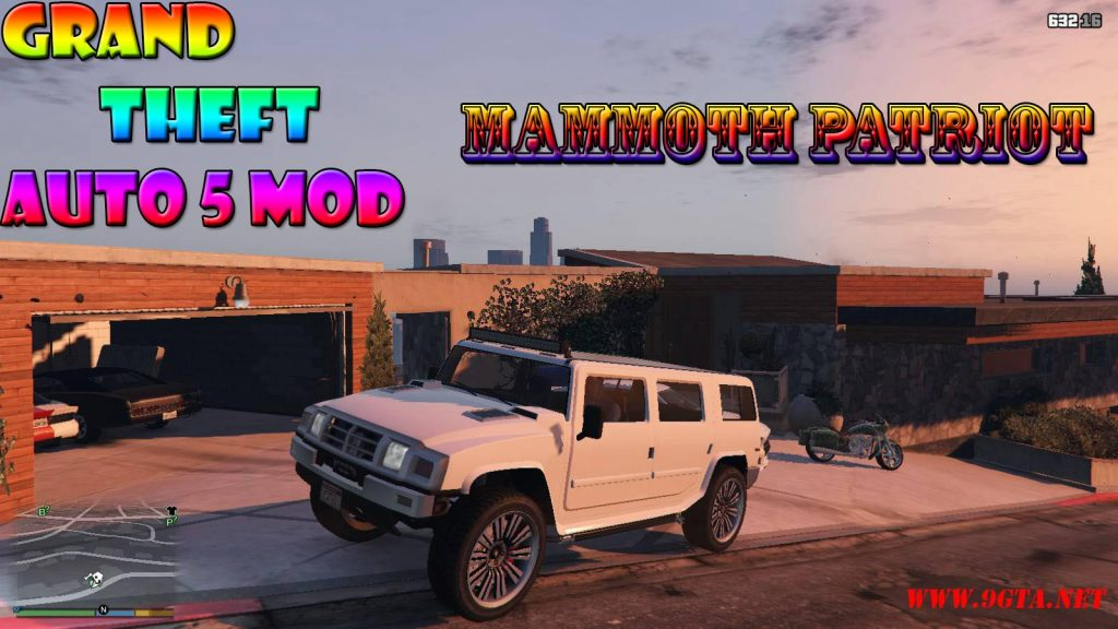 Mammoth Patriot Mod For GTA5