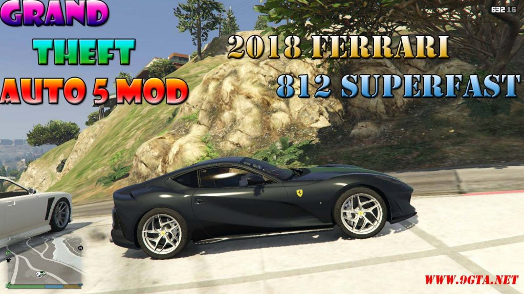 2018 Ferrari 812 Superfast Mod For GTA5