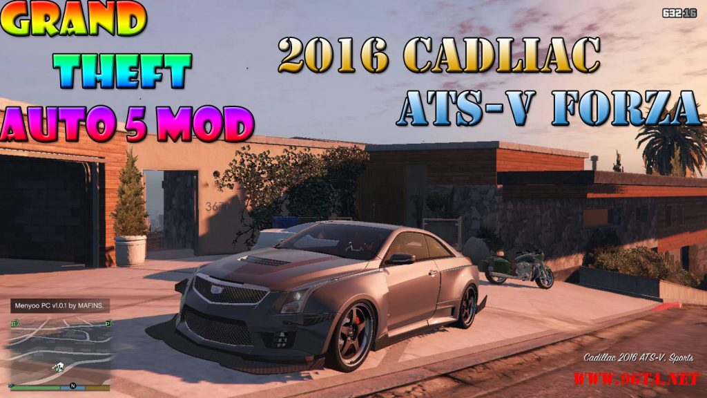 2016 Cadilac ATS-V Forza Edition Mod For GTA5