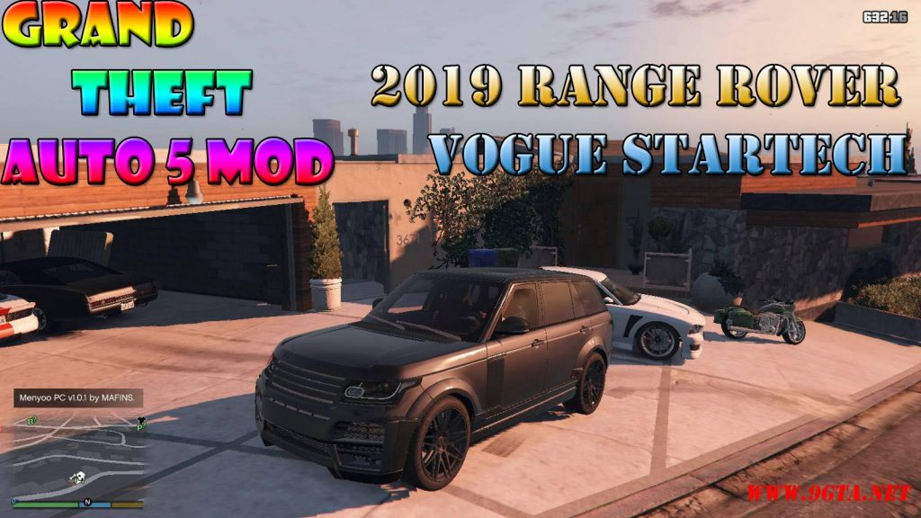 2019 Range Rover Vogue Startech Mod For GTA5