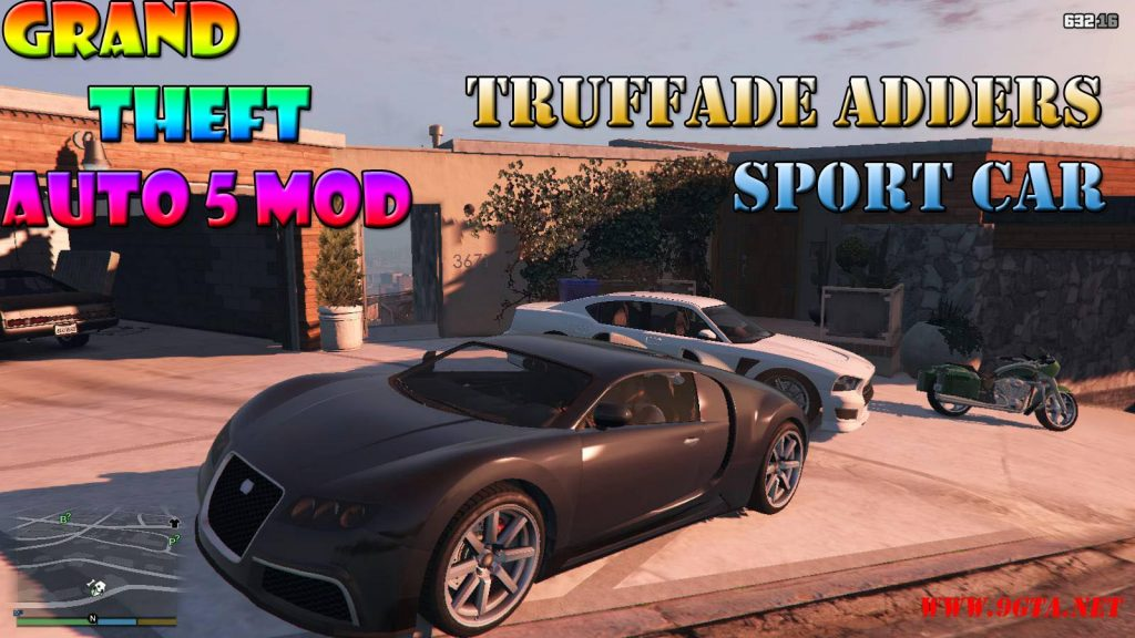 Truffade Adders Sport Mod For GTA5