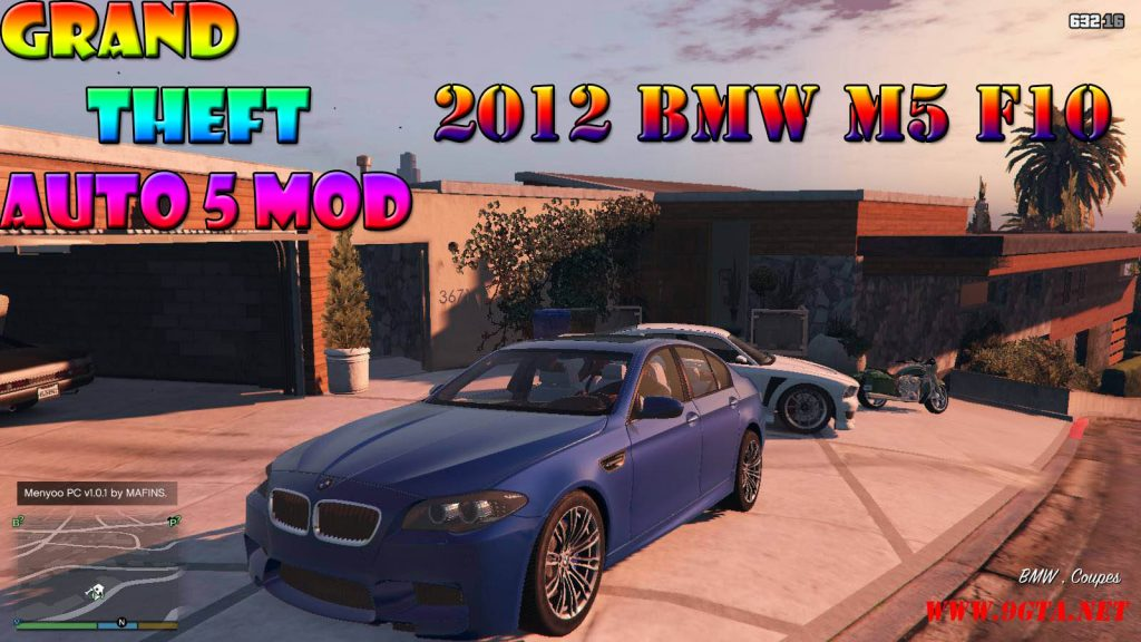 2012 BMW M5 F10 Mod For GTA5