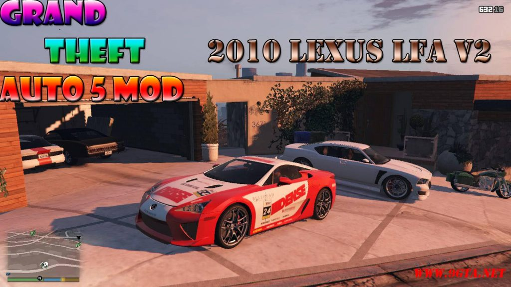 2010 Lexus LFA v2.0 Mod For GTA5