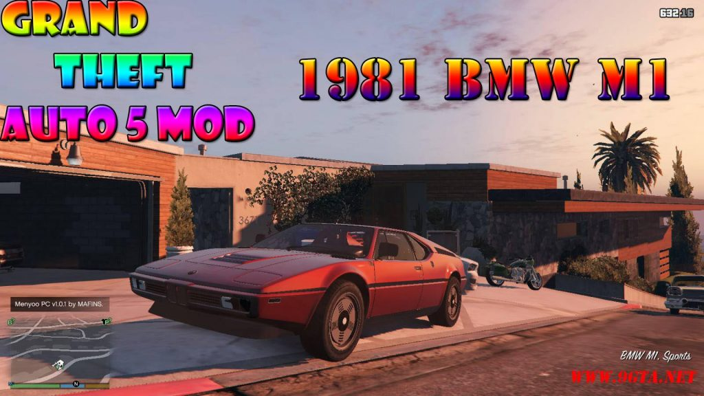 1981 BMW M1 v2.0 Mod For GTA5
