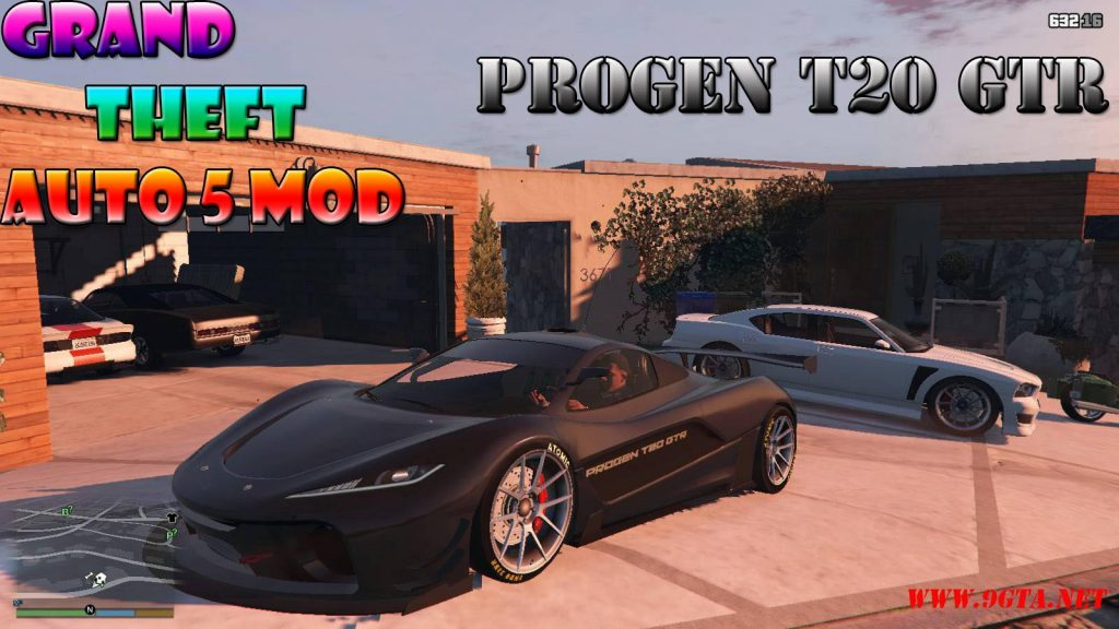 Progen T20 GTR Mod For GTA5
