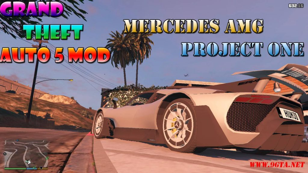 Mercedes AMG Project One Mod For GTA5
