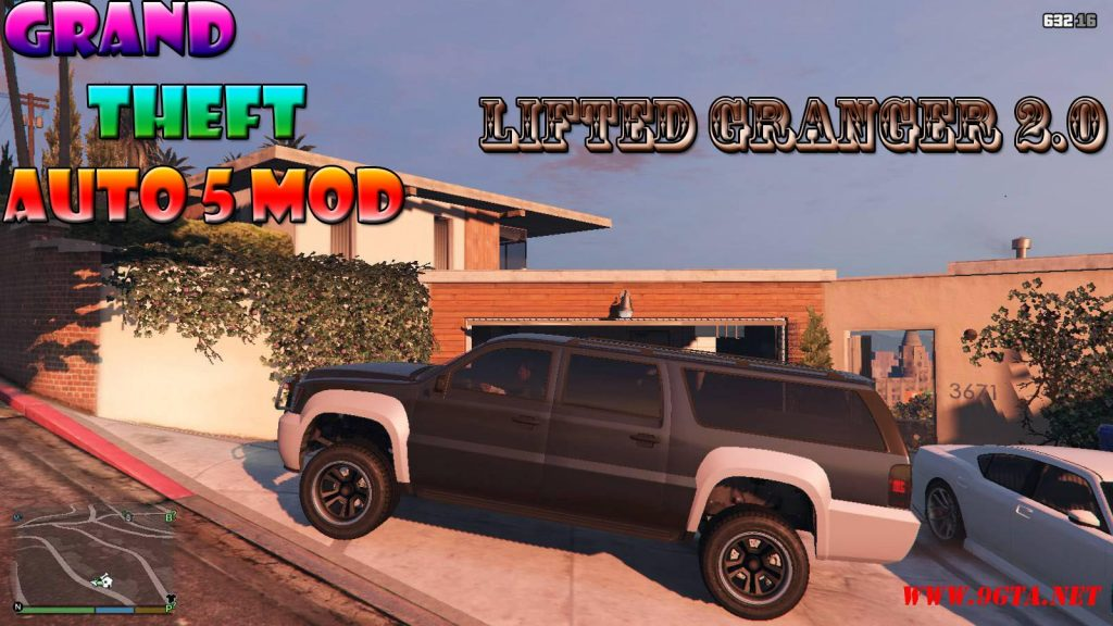 Lifted Granger v2.0 Mod For GTA5
