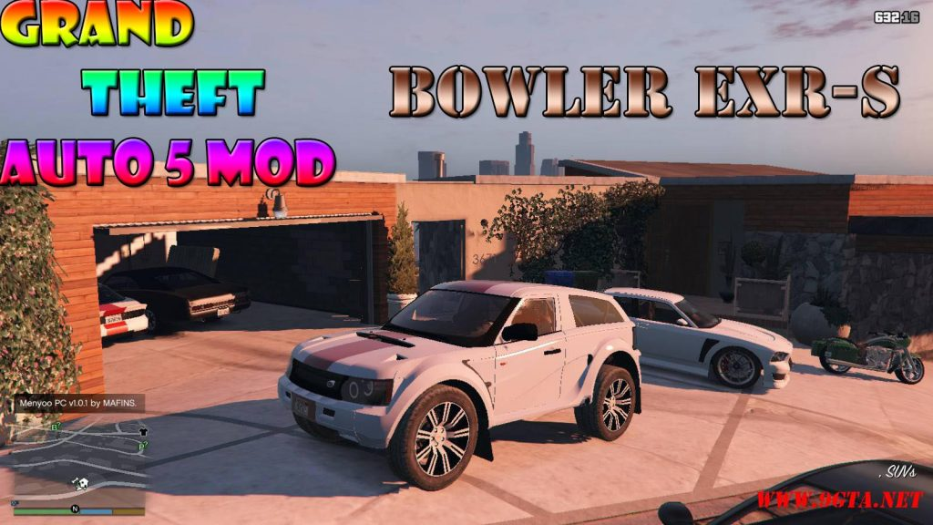 Bowler EXR-S Mod For GTA5