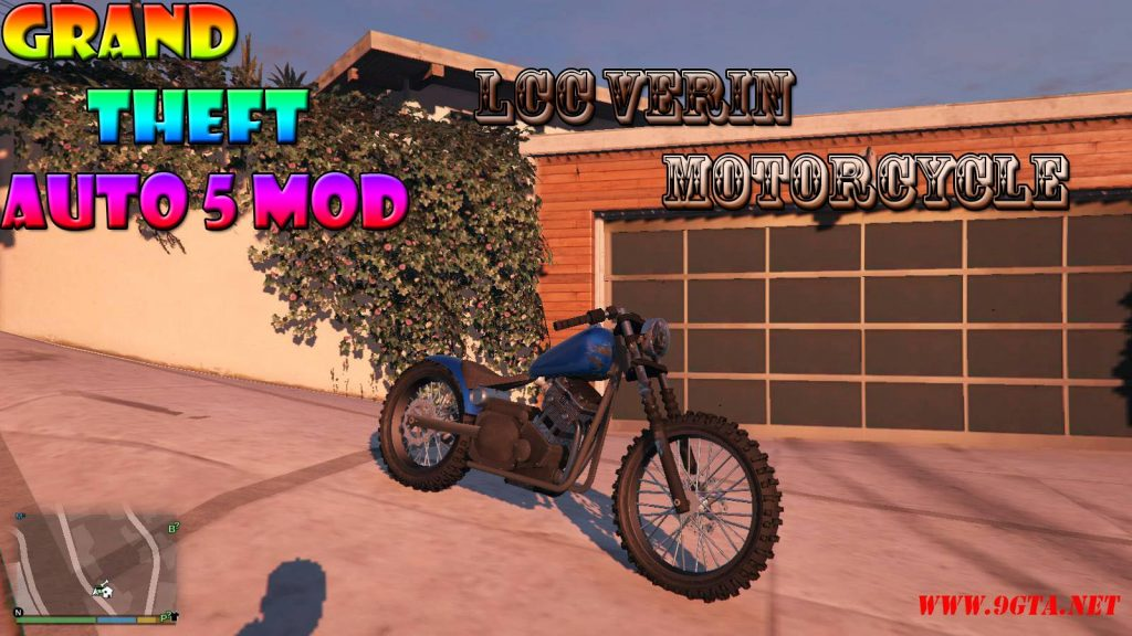 LCC Verin Motorcycle Mod For GTA5